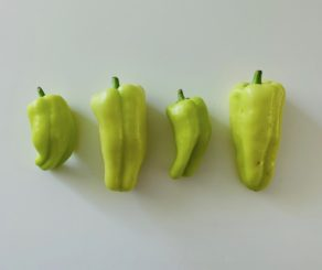locally grown peppers