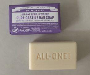 Dr Bronners Lavender Soap