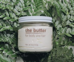 The butter by she plants love