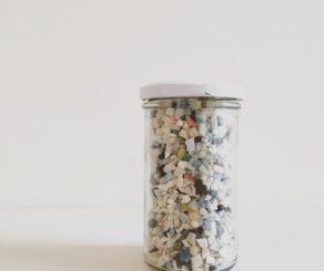 Jar of Ocean Plastic