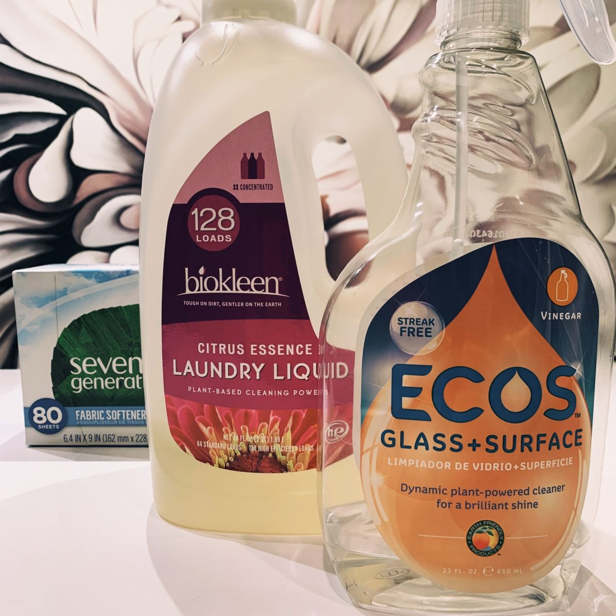 Earth and people friendly cleaning products