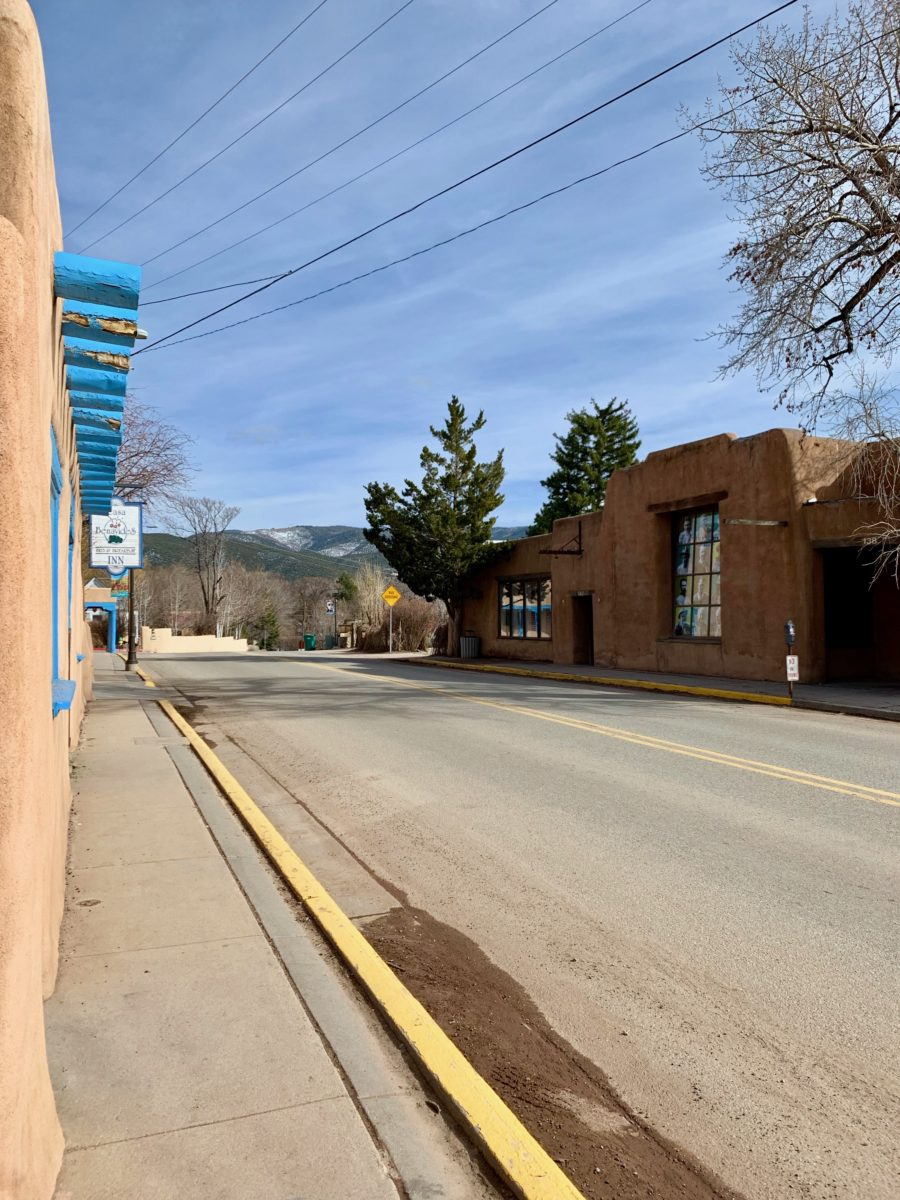 Gallery Street in Taos, NM