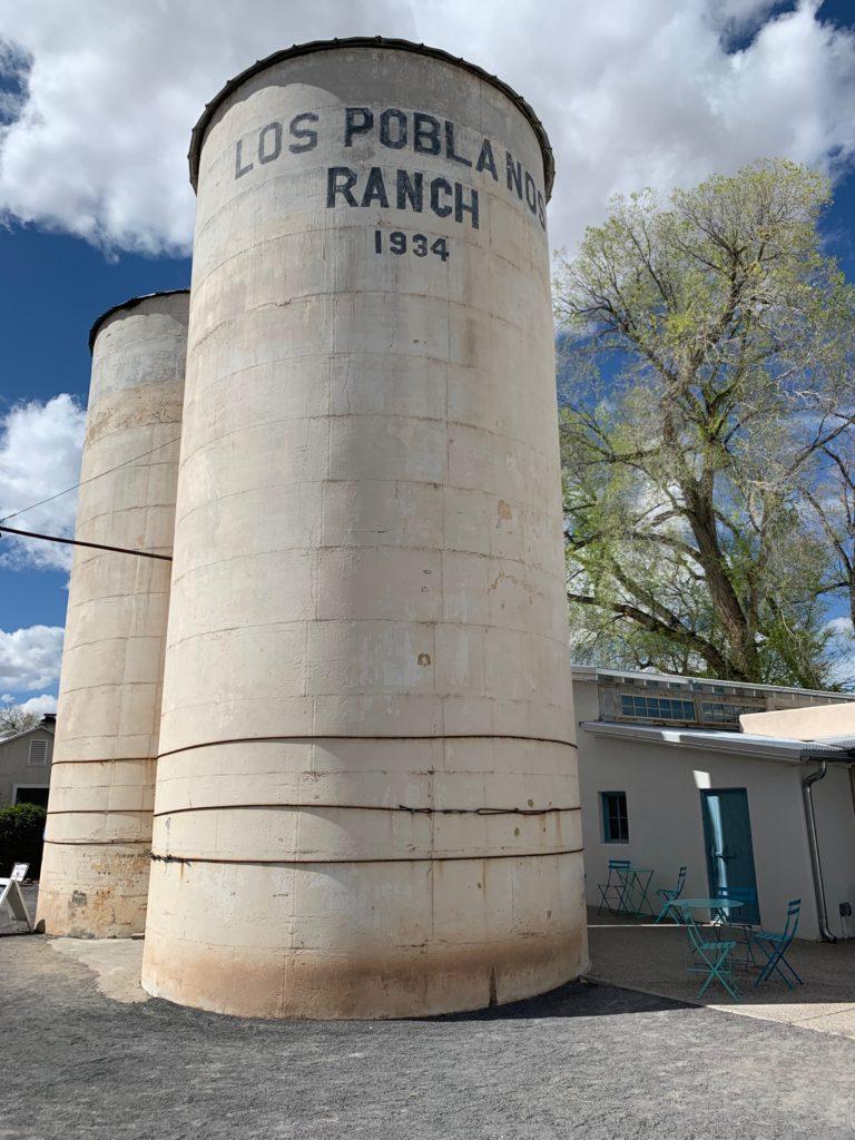 Los Poblanos Ranch Silos