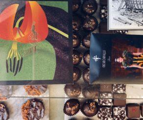Chocolate truffles at Chokola Bean to Bar
