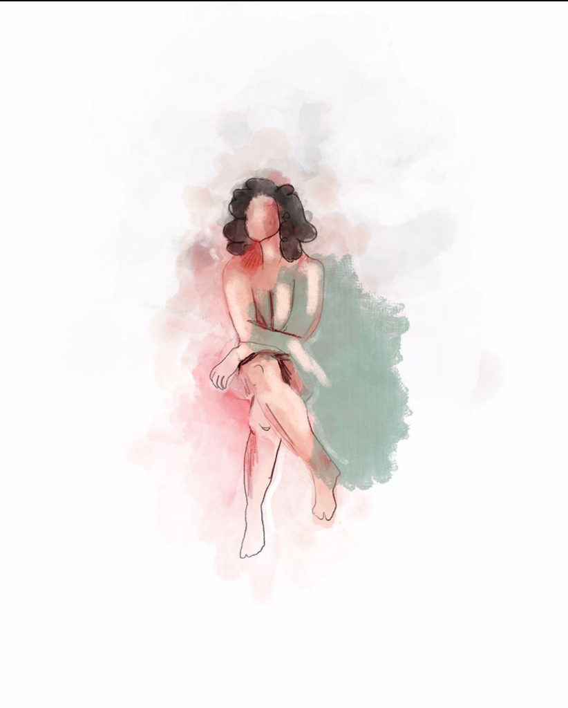 Ashley Trabue Woman painting
