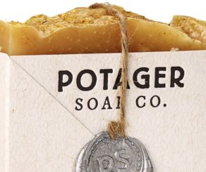 Potager Lemongrass bar soap