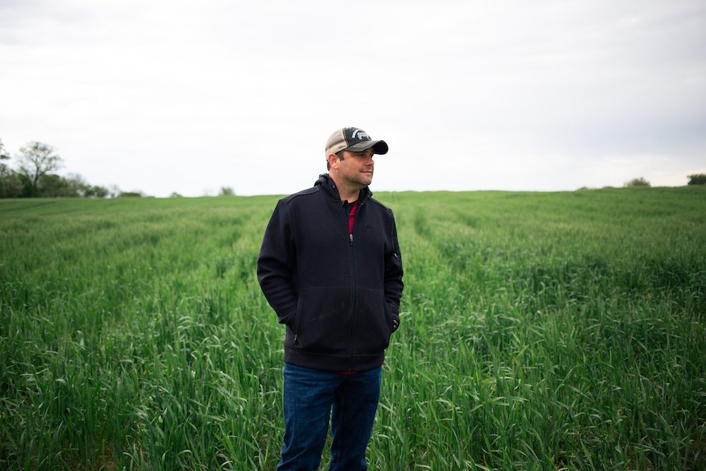 Justin Head, Farmer and Owner